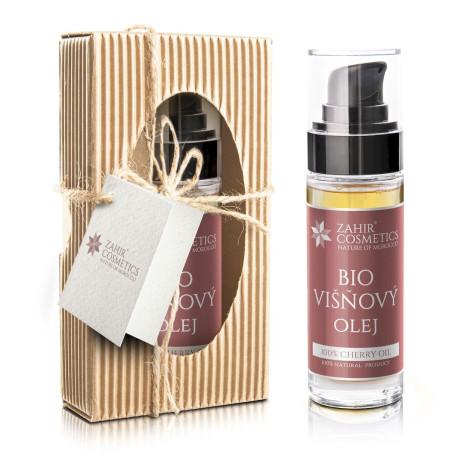 Višňový pleťový olej Bio 30 ml - dárkové balení