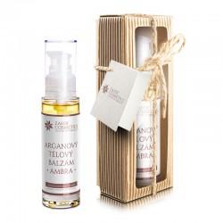Arganový tělový balzám - AMBRA 50 ml - darčekové balenie