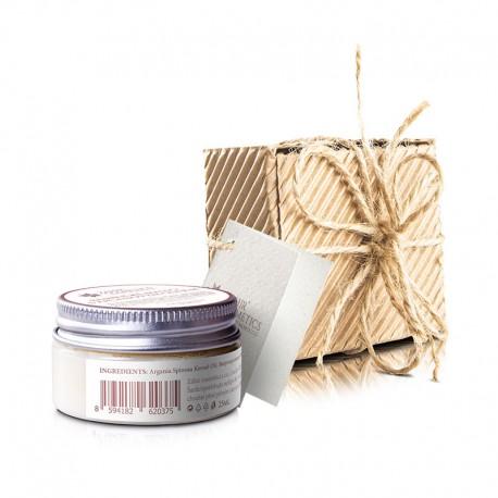 Bambucké  máslo s arganovým olejom a vitamínom E, 25 ml