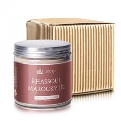 Rhassoul - Marocký jíl  200 gr - dárkové balení