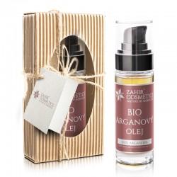 BIO argánový olej s pumpičkou 30 ml - darčekové balenie